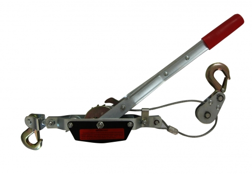 HAND PULLER WITH GEAR AND HOOKS