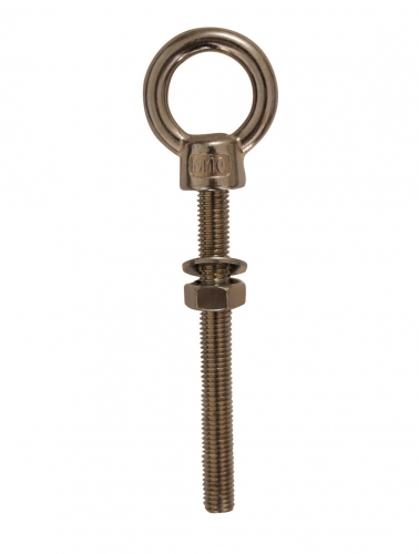 STAINLESS STEEL EUROPEAN TYPE EYE BOLT,DROP FORGED, AISI304 OR AISI316